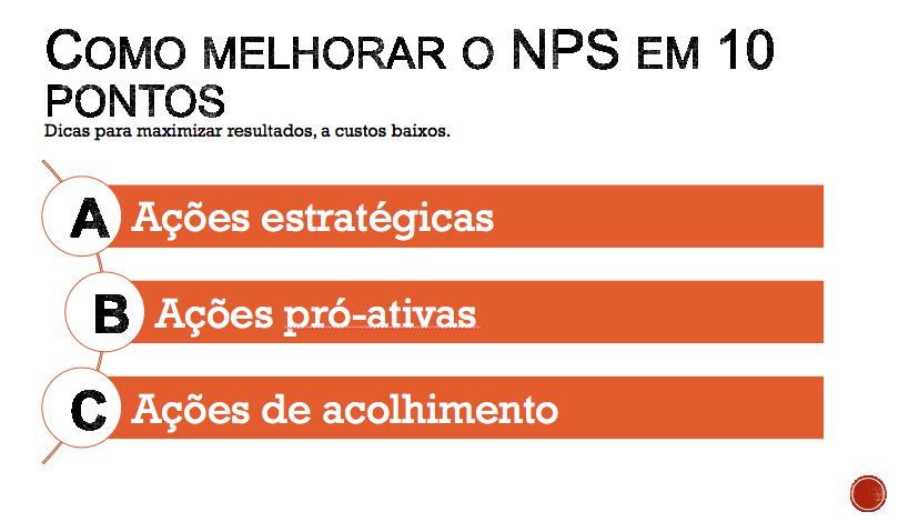 Conheça algumas ações para melhorar o NPS da sua empresa.