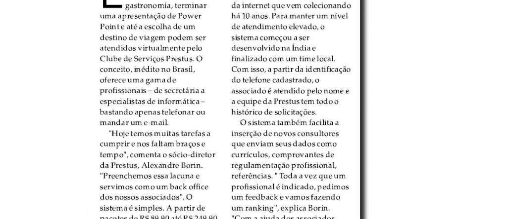 Prestus no jornal Diário do Comércio pt 3