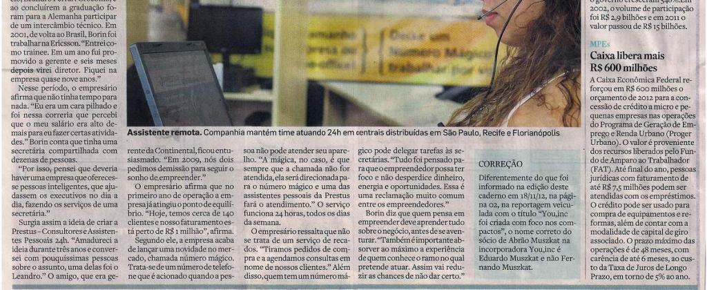 Prestus no jornal Estadão pt 3