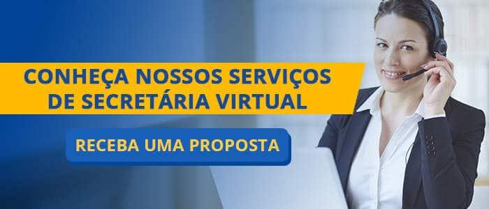 solicitar proposta de secretaria virtual